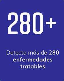 Detecta mais de 150 doenças tratáveis